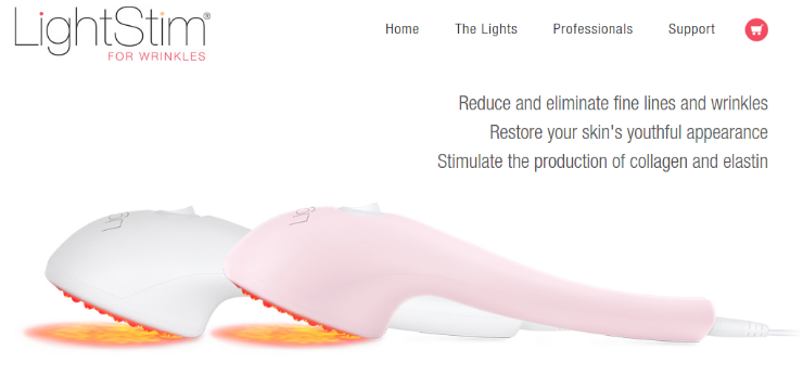 review of lightstim for wrinkles by lightstim red light therapy. Black Bedroom Furniture Sets. Home Design Ideas