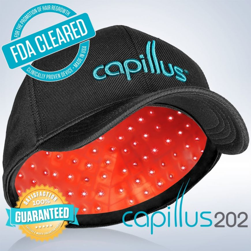Capillus202 Hair Regrowth Laser Cap Red Light Therapy