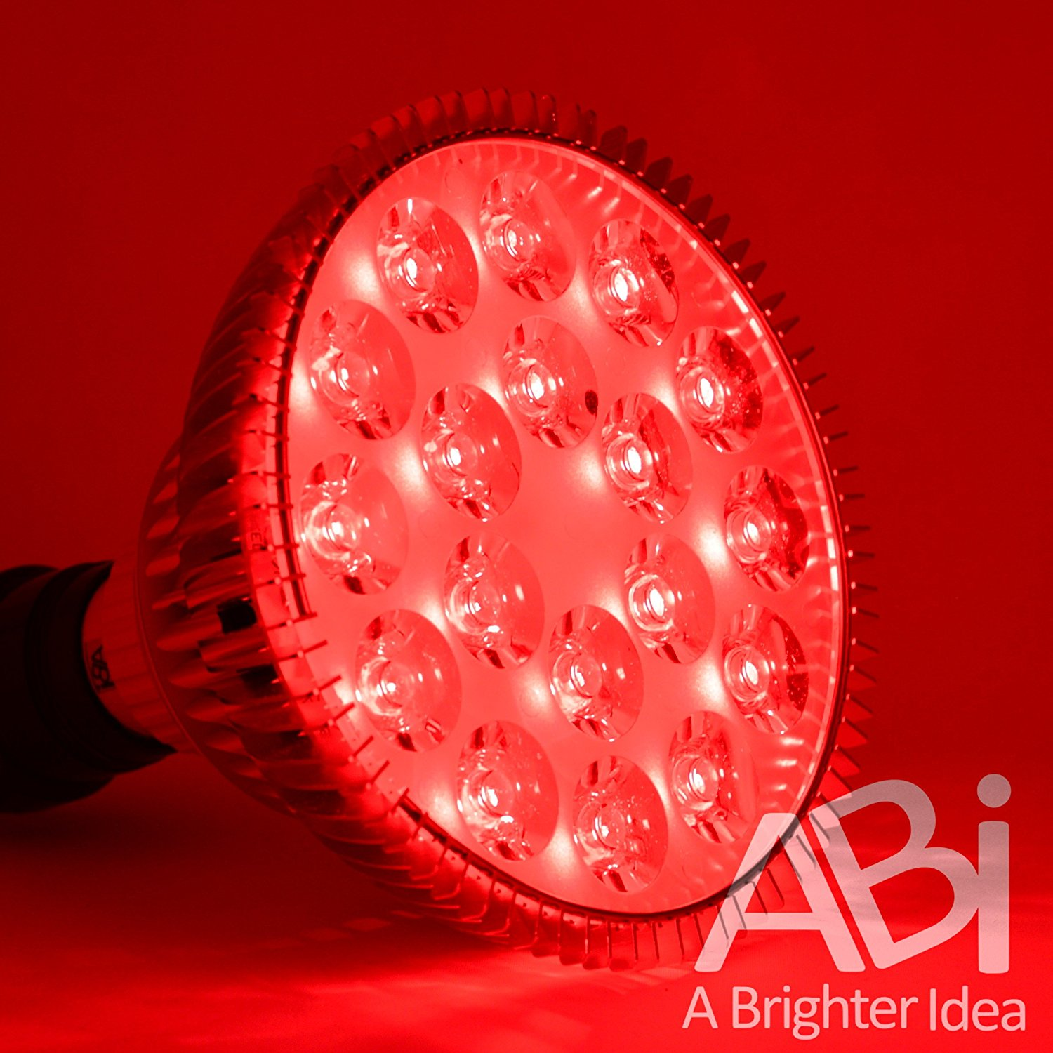 Abi 25w Deep Red 660nm Led Light Bulb Red Light Therapy